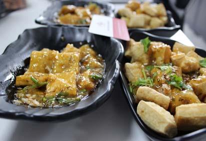小吃培训臭豆腐